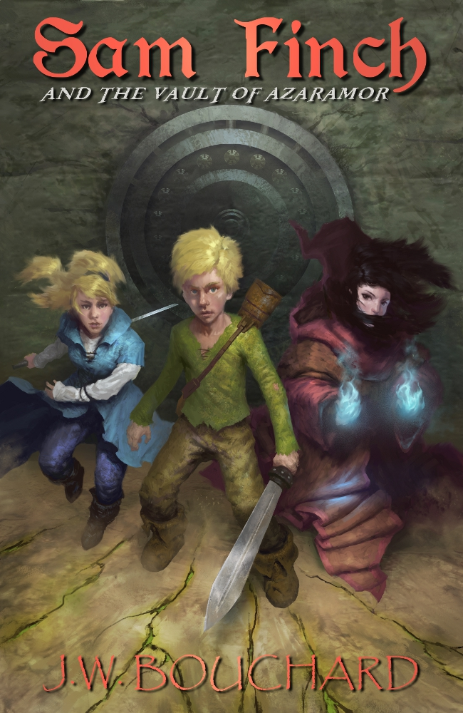 Book Cover: Sam and the Vault of Azaramor