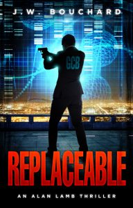 Book Cover: Replaceable: An Alan Lamb Thriller