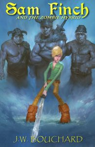 Book Cover: Sam Finch and the Zombie Hybrid